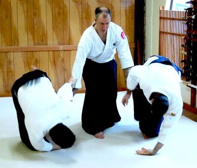 Aikido Instructor Josh Drachman Sensei