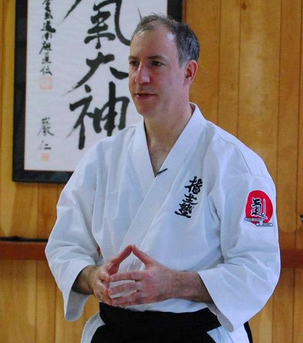Aikido Sensei Josh Drachman