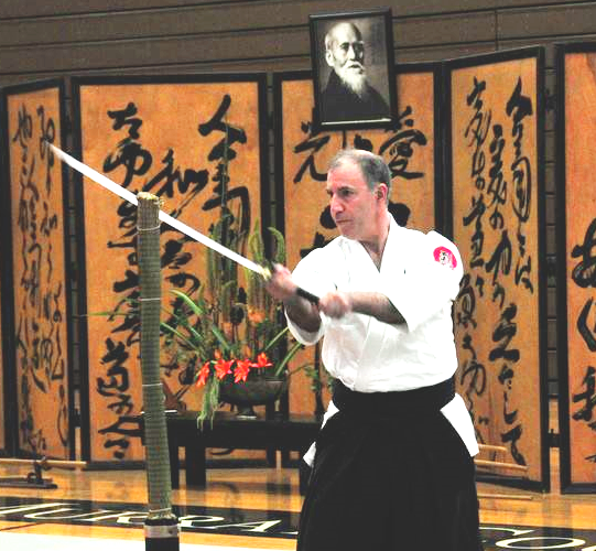 Aikido teacher Josh Drachman Sensei