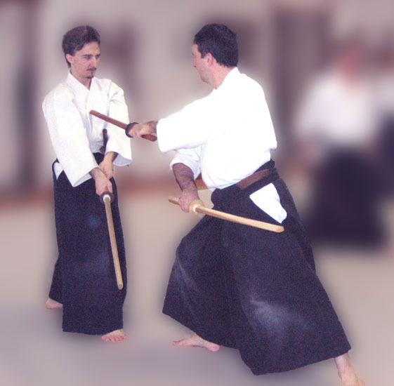 Aikido sword training at Aikido Eastside