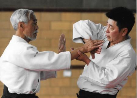 Seminar with Mitsugi Saotome Shihan