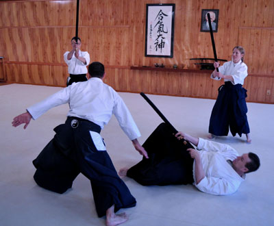 Aikido Randori Intensives with George Ledyard