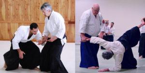 Hiroshi Ikeda and George Ledyard Aikido Seminar