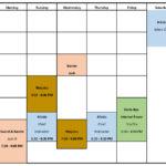 2021 – Dojo Reopening Schedule – Adult Training – website version